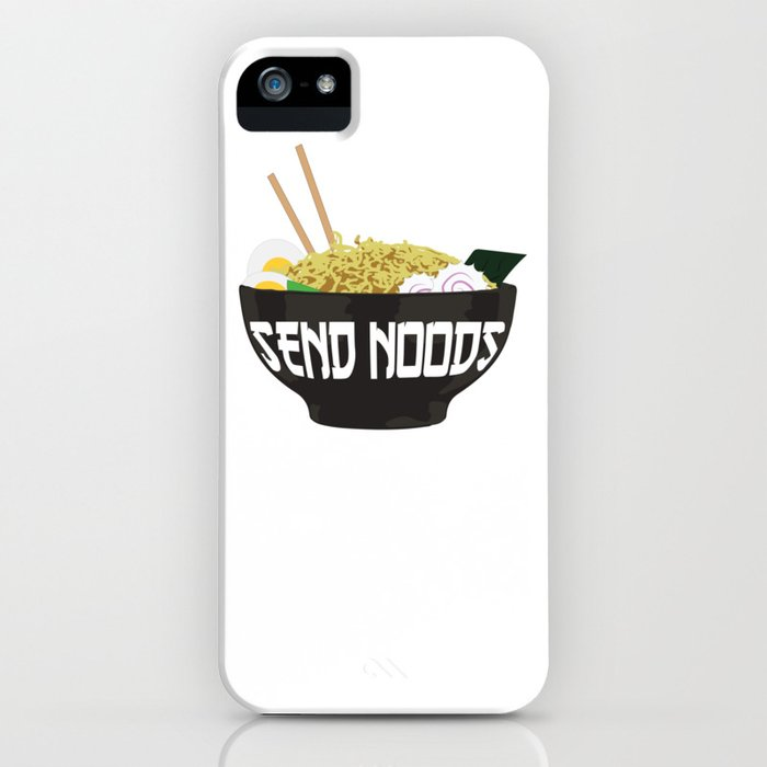 send noods iphone case