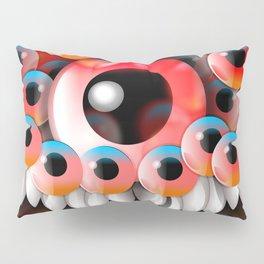 Eyeball Monster Pillow Sham