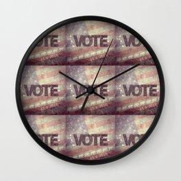 Vote Republican 2016 Wall Clock