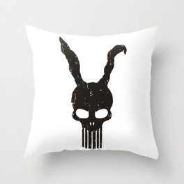 Bunny Punisher Throw Pillow