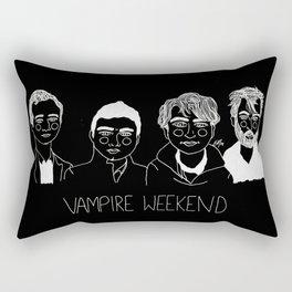 Vampire Weekend (Inverted) Rectangular Pillow
