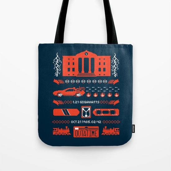 1.21 Stitches Tote Bag