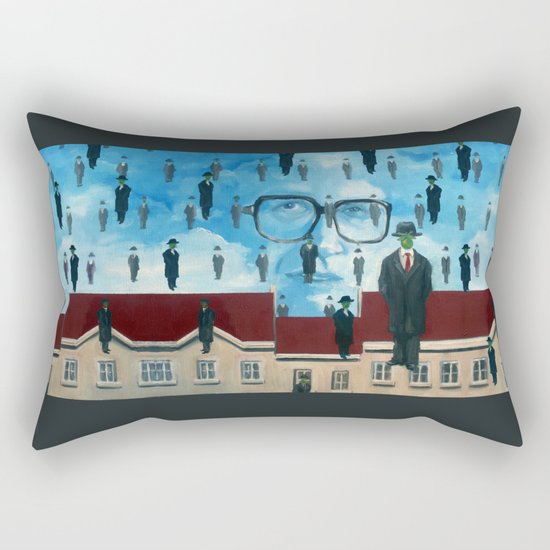 John Rawls Rectangular Pillow