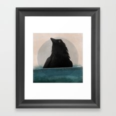 Herald Framed Art Print