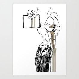 Krista Art Print