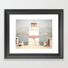 Pacific Lighthouse Framed Art Print