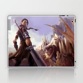 Dragon Huntress Laptop & iPad Skin