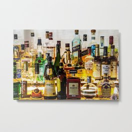 the bar Metal Print