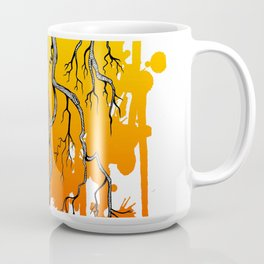 Liquid Autumn Leaves (Light) Coffee Mug