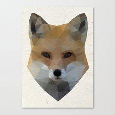 Fox Triangle Canvas Print