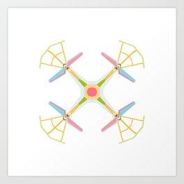 Drone Art Print