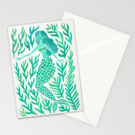 Kelp Forest Mermaid – Mint Palette Stationery Cards