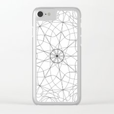 mandala art - floral Clear iPhone Case
