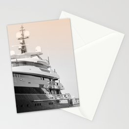 Nautical Travel Photography | Luxury Yacht Ocean Seascape Nature Boats Harbor Landscape Colorful Summer Boats Sea Ocean France Europe Stationery Cards