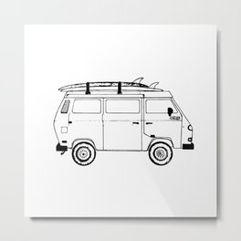 Adventure Mobile Metal Print