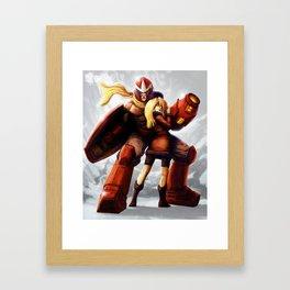 Protoman & Kalinka Framed Art Print
