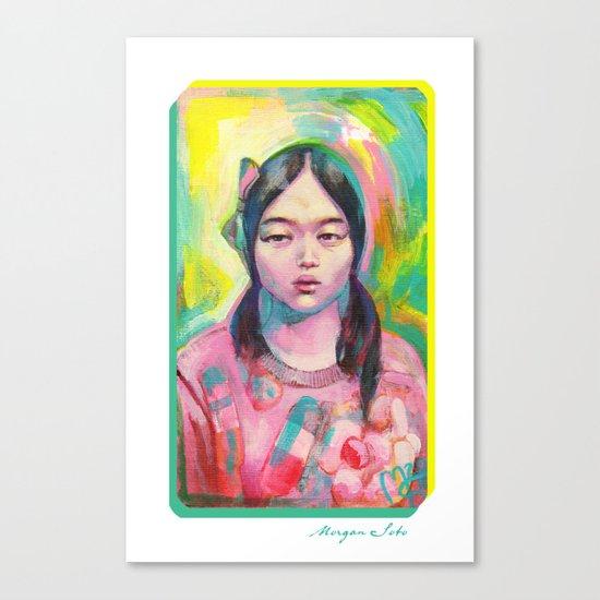 Happiness Canvas Print
