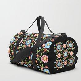 Millefiori Pinwheel Pattern Duffle Bag