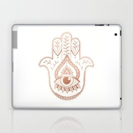 Hamsa Hand - Rosé Gold Laptop & iPad Skin