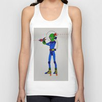 physics Tank Tops featuring Alien Physics  by DApple