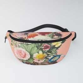 Flower Power- Peach Fanny Pack