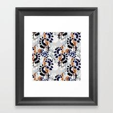 Collage pattern I  Framed Art Print