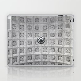 The network of flower ornaments on the ceiling of the hall of St. Isaac's Cathedral. Saint-Petersbur Laptop & iPad Skin
