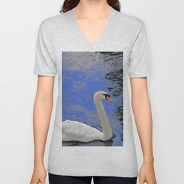 Swan Life Unisex V-Neck