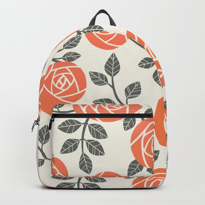 Retro roses Backpack