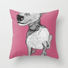 Whipper Throw Pillow