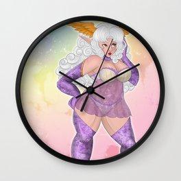 HOLY FLUFF Wall Clock