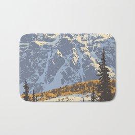 Banff National Park Bath Mat