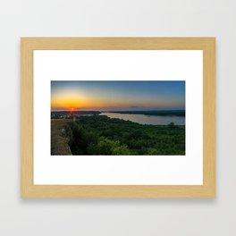 Hannibal, MO Framed Art Print