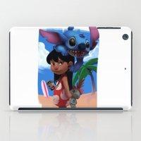lilo and stitch iPad Cases featuring Lilo & Stitch by Archiri Usagi