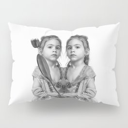 Sisters Twins Pillow Sham