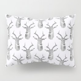 Gray Impala Pillow Sham