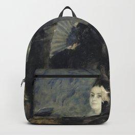 Pierre-Auguste Renoir - Portrait de femme, dit de Mme Georges Hartmann Backpack