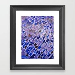 The Calm Mosaic Framed Art Print