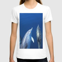 Playful and friendly dolphins T-shirt