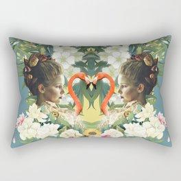 The Lovers Floral Rectangular Pillow