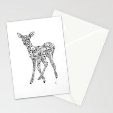 Leafy Deer Stationery Cards