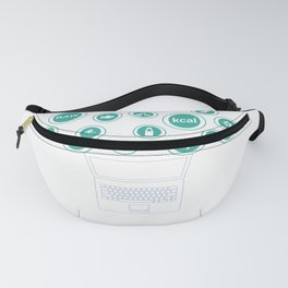 Social Media Can Wait Time For Nutrition Fanny Pack