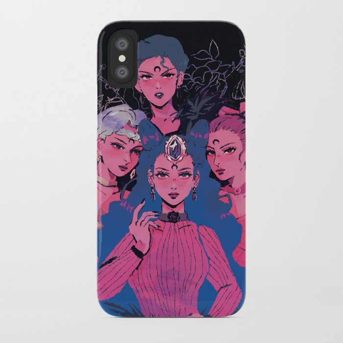 release date: bb84f ccfd4 ayakashi sisters - sailor moon iPhone Case by babypears