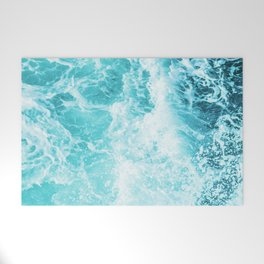 Perfect Sea Waves Welcome Mat
