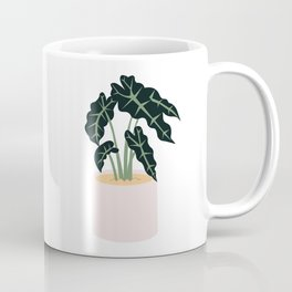 Elephent Ear Plant Coffee Mug
