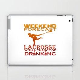 WEEKEND FORECAST LACROSSE Laptop & iPad Skin