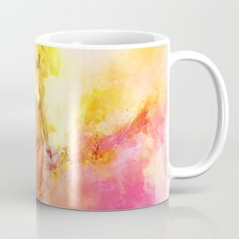 The Girl with the Sun in Her Hair - Summer Bloom Coffee Mug