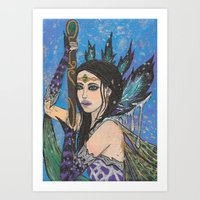 Royal Wings Art Print