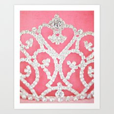 Always wear your invisible Crown Art Print
