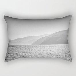Sea and foggy mountains Rectangular Pillow